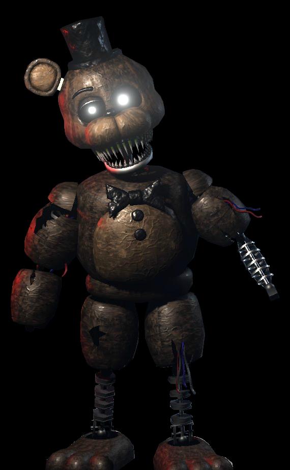 Image - Ignited Freddy (Origin...
