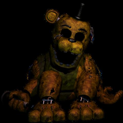File:Golden Freddy (FNaF2).png