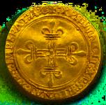 Écu d'or de Louis XII trans