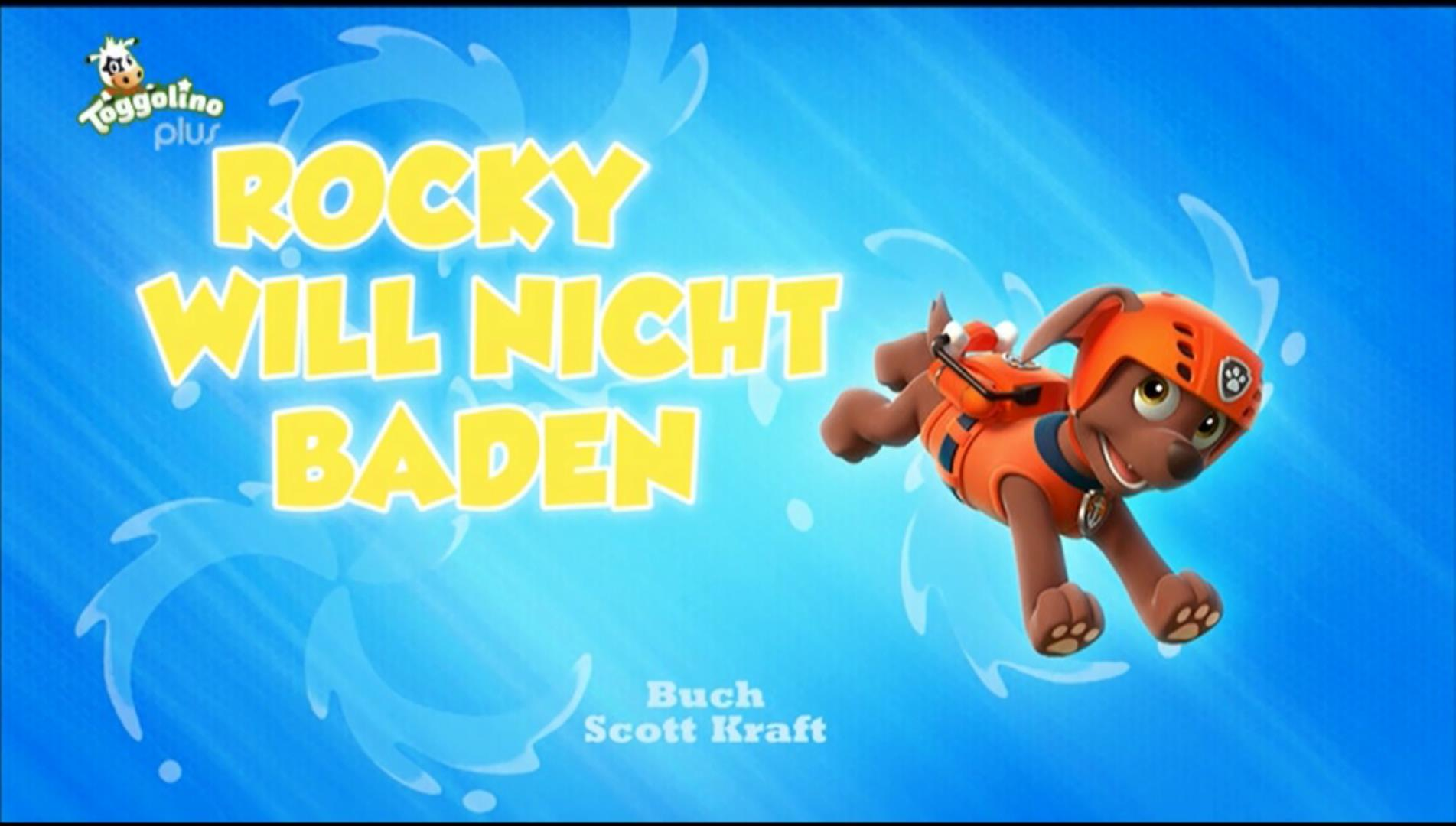 Rocky Will Nicht Baden Paw Patrol Deutsch Wiki Fandom Powered By