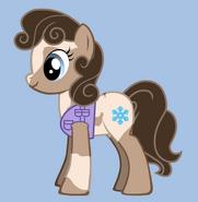 Tundra As A Pony (Second Christmas Gifr For Tundrathesnowpup)