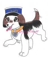 Casey the beagle by gundamoswald-dcir36u