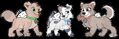 TxR pups