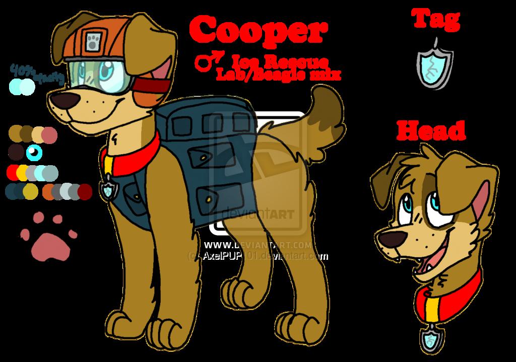 Cooper Paw Patrol Fanon Wiki Fandom Powered By Wikia