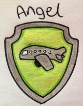 Pup tag~ Angel