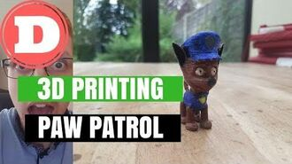 3D Printing Paw Patrol Chase - Is it any good?