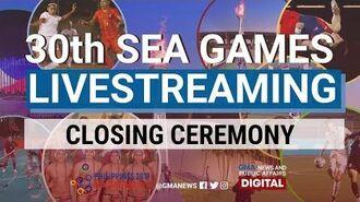 SEA Games 2019 Closing Ceremony Livestream Replay