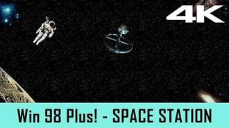 Windows 98 Plus! Screensaver - Space Station (4K)