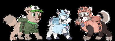 TxR pups uniform