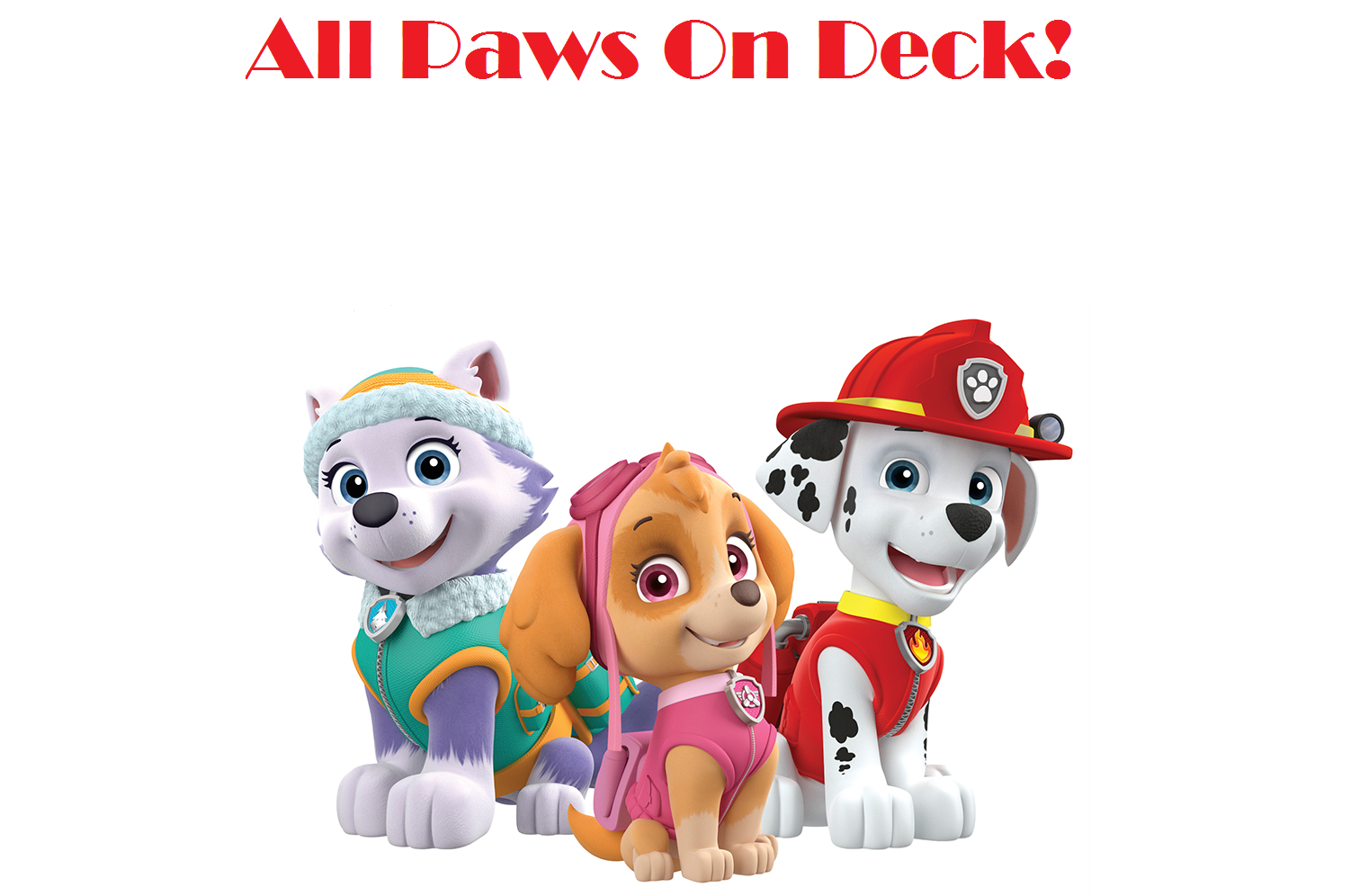 Amazing All Paws On Deck