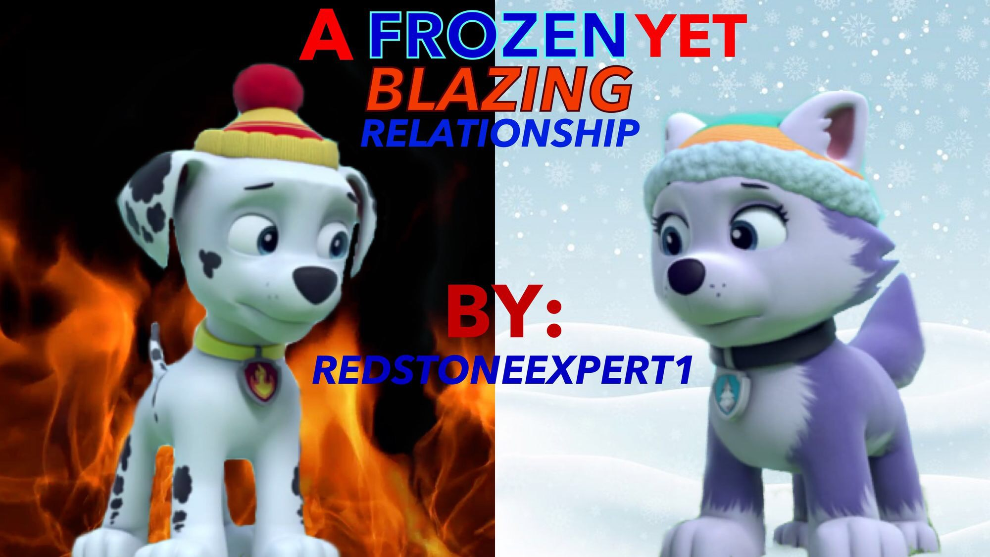 Delightful A Frozen Yet Blazing Relationship: A Marshall X Everest Fanfic