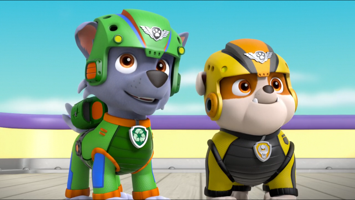PAW Patrol Air Pups Rubble Rocky.png