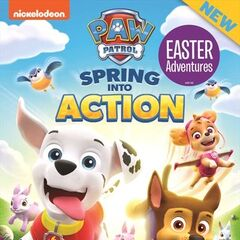 Australian cover (<i>Spring into Action</i>)