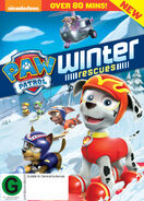 PAW Patrol Winter Rescues DVD New Zealand