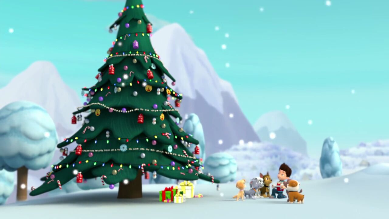 pawpatrols01e16pupssavechristmas720pwebripx264aac 1358490jpg - Paw Patrol Christmas Tree Decorations
