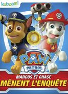 PAW Patrol Marshall and Chase On the Case! DVD Canada French