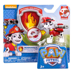 Marshall Action Pack Pup & Badge