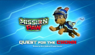 Mission PAW Quest for the Crown title card