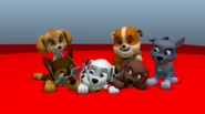 PAW Patrol Animation Pups