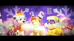 Paw Patrol Pups Winter Wonder Show SONG ♪ ♫ ♩ ♬●ω●