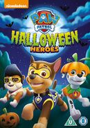 PAW Patrol Halloween Heroes DVD UK