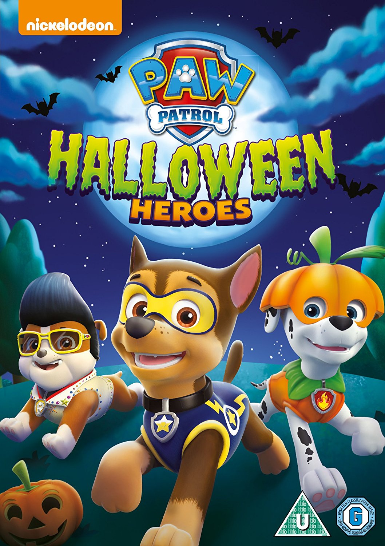 image - paw patrol halloween heroes dvd uk | paw patrol wiki