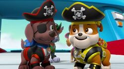 Pirate Pups On Sea Patrol