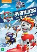 PAW Patrol Winter Rescues DVD Brazil