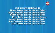 PAW Patrol French Cast Credits 06