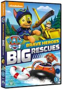 PAW Patrol Brave Heroes, Big Rescues DVD UK