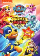 PAW Patrol Mighty Pups DVD Nordic