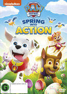 PAW Patrol Spring into Action DVD New Zealand