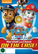PAW Patrol Marshall and Chase on the Case! DVD New Zealand