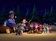 marshall gallery pups save the camping trip paw patrol wiki