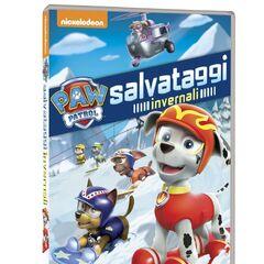 Italian cover (<i>Salvataggi invernali</i>)