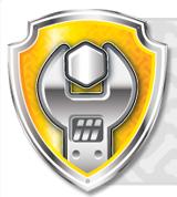 Delightful Rubble Badge