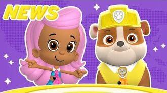 Nick Jr. News w Molly & Rubble 🗞️ PAW Patrol & Bubble Guppies