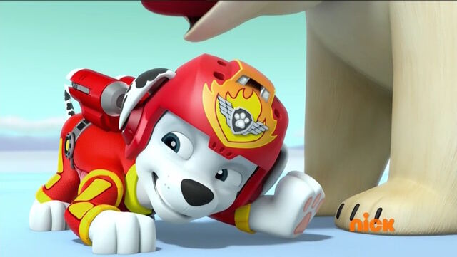 File:PAW Patrol Pups Save the Polar Bears Marshall.jpg