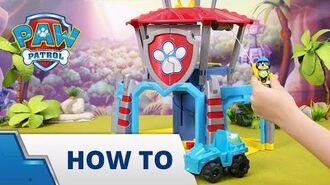 PAW Patrol Dino Rescue HQ Playset Unboxing and How To Play PAW Patrol Official & Friends