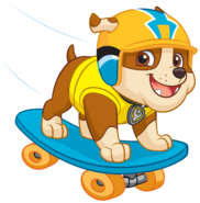 PAW Patrol Rubble Skateboard