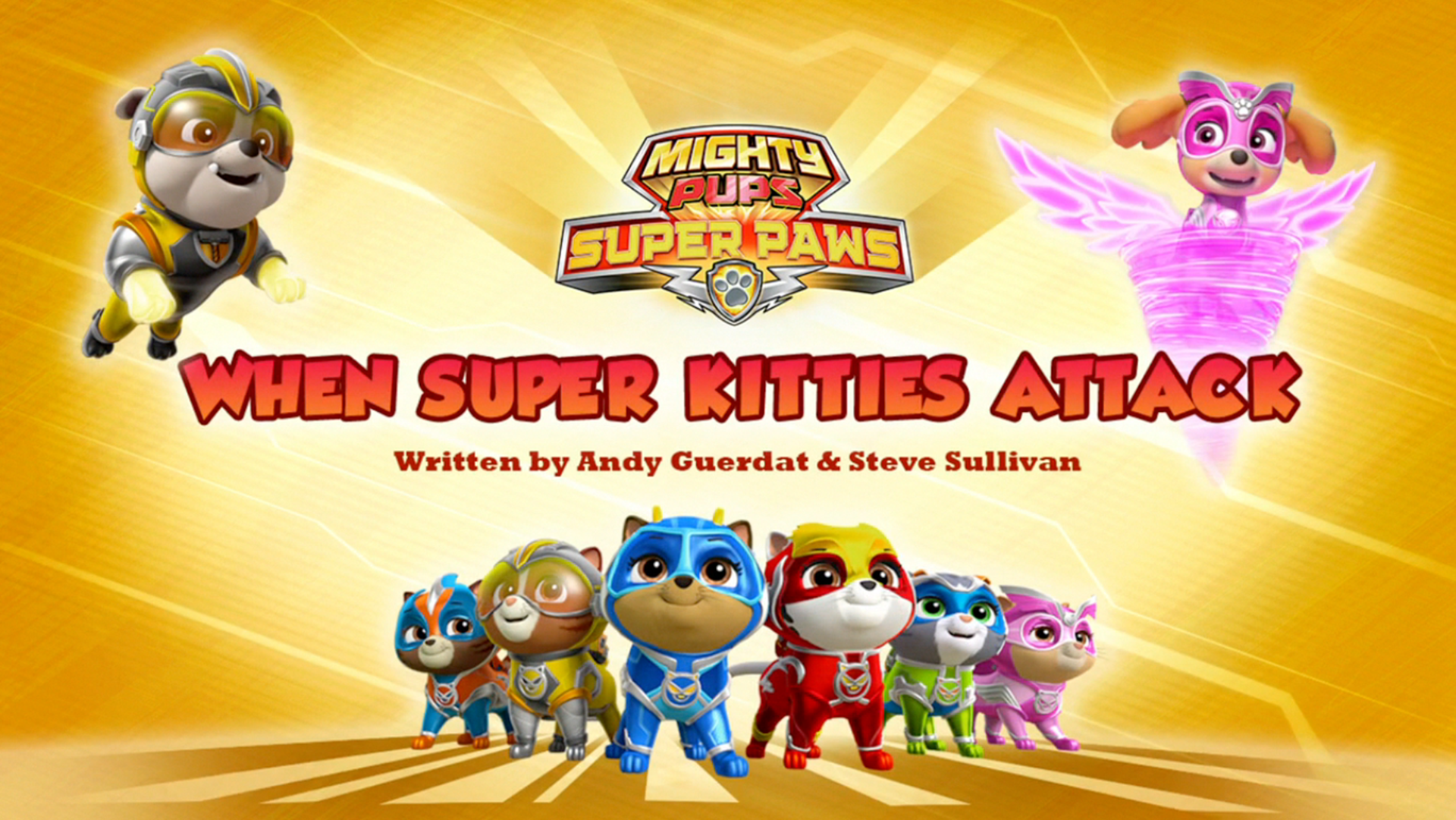 Mighty Pups, Super Paws: When Super Kitties Attack | PAW