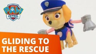 PAW Patrol Skye Gets Trapped On Top Of A Building Toy Episode