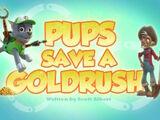 Pups Save a Goldrush