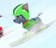 Snowboarding Rocky