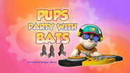 Pups Party with Bats (HQ)