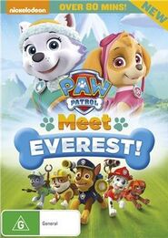 PAW Patrol Meet Everest! DVD Australia