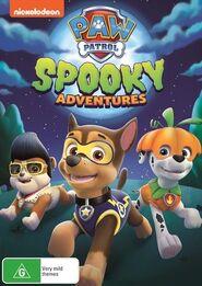 PAW Patrol Spooky Adventures DVD Australia