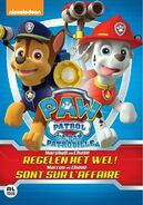 PAW Patrol Marshall and Chase on the Case! DVD Belgium-Netherlands