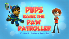 Pups Raise the PAW Patroller (HQ)