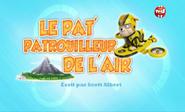 PAW Patrol La Pat' Patrouille Le Pat' Patrouilleur de l'air